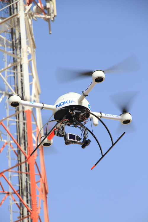 Nokia Drone pylone