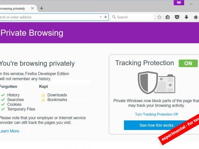 Firefox privé