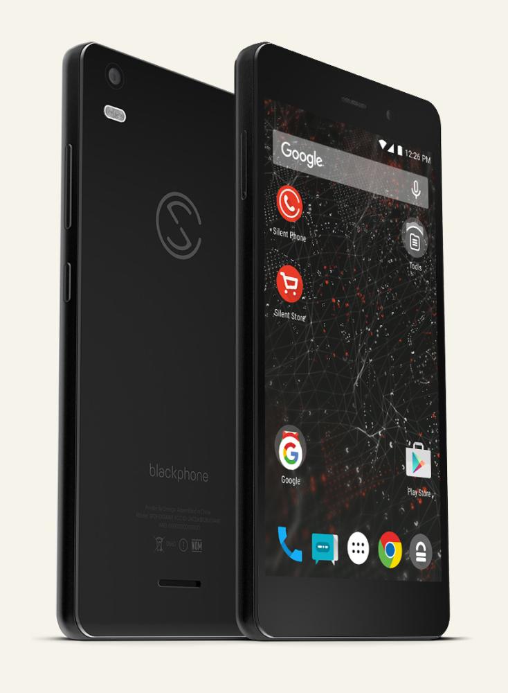 Blackphone 2 de Silent Circle, un smartphone Android dédié à la sécurité.