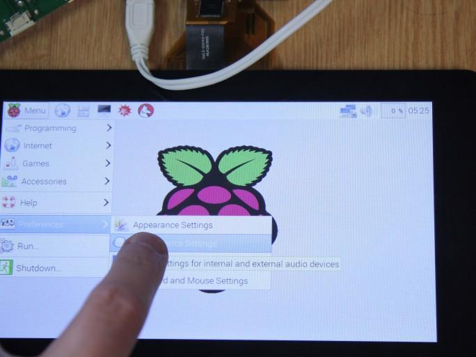 Raspberry Pi LCD