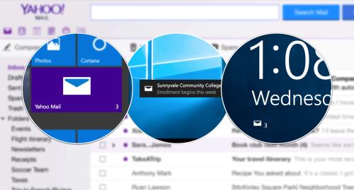 Yahoo Mail pour Windows 10