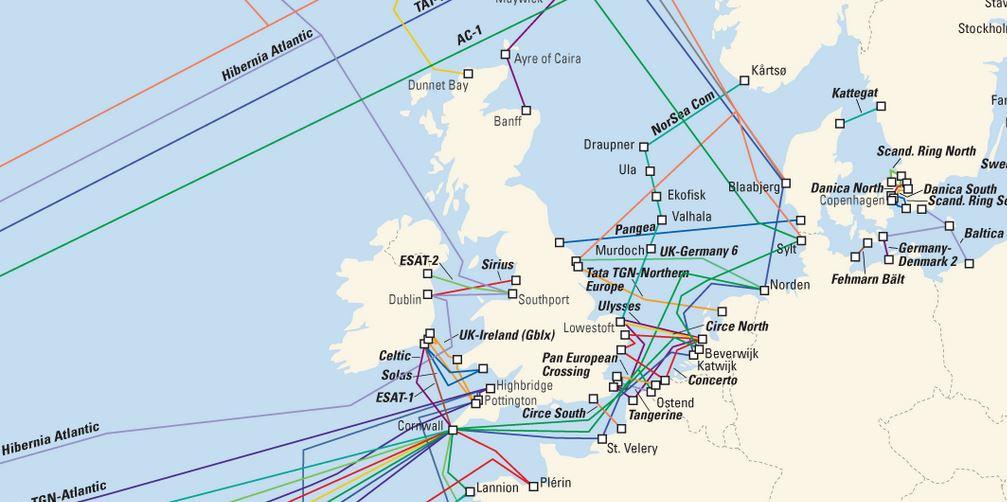 cables sousmarins