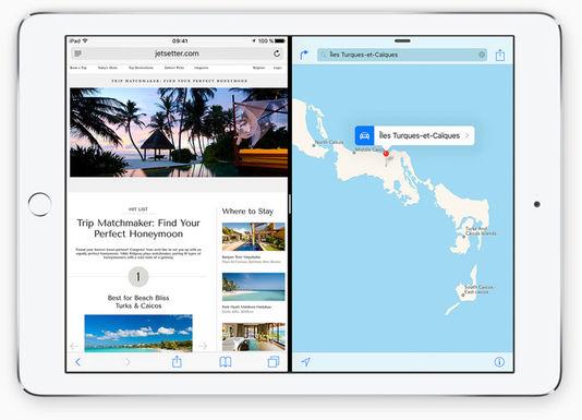 iOS 9-multitache