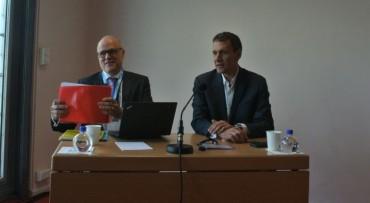 Claude Molly-Mitton (à gauche) et Marc Genevois (SAP France).