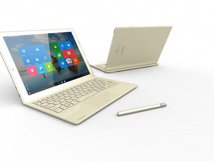 Toshiba dynaPad Tablet