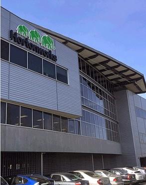 Le nouveau siège d'Hortonworks