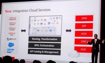 Thomas Kurian présente Oracle Integration Cloud Services