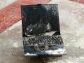 laptop brulé perte données