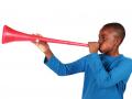 vuvuzela trompette