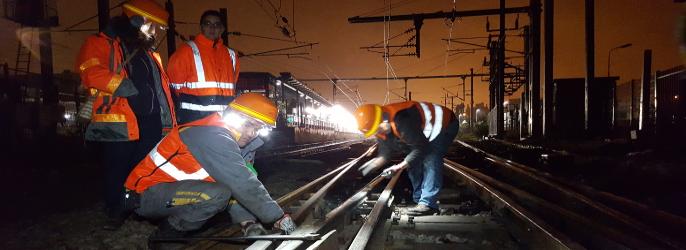 Les éclisses connectées ont déjà fait l'objet d'un chantier pilote réalisé avec la SNCF en octobre dernier qui a prouvé la validité du concept.