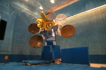 Le module laser EDRS-A embarqué dans le satellite géostationnaire Eutelsat-9B.