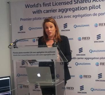 """Pour Axelle Lemaire, secrétaire d'Etat au Numérique, le LSA """"est susceptible d'avoir des retombées économiques majeures en France""""."""