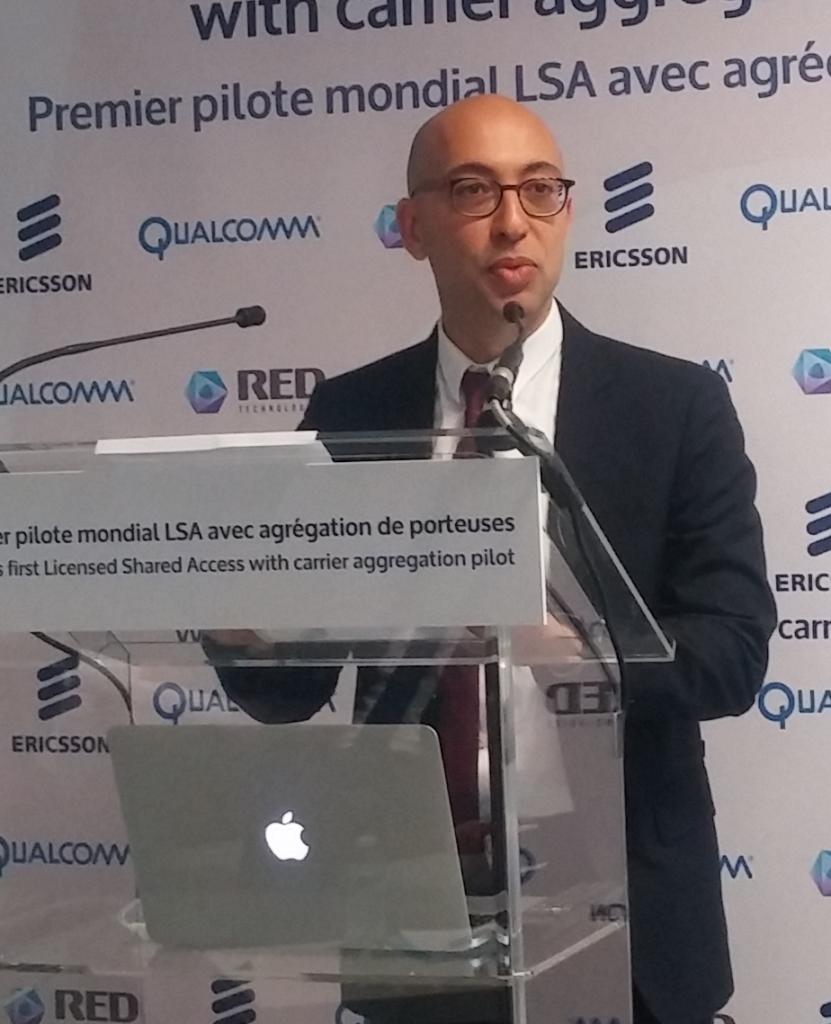 Selon Wassim Chourbaji (Qualcomm), le LSA est une étape cruciale à la réalisation du marché unique des télécoms en Europe.