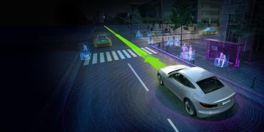 Nvidia propose une solution de bout en bout de reconnaissance de l'environnement par les véhicules.