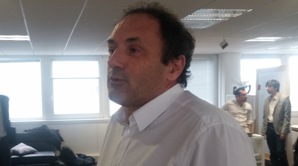 Ludovic Le Moan, CEO de Sigfox, président de l'association IoT Valley et initiateur du Connected Camp.