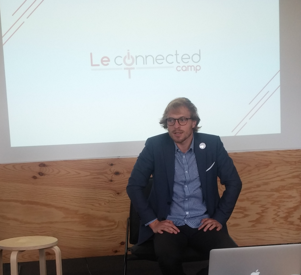 Simon Vachet, directeur du Connected Camp.