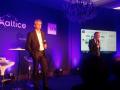 Xavier Drilhon, directeur général adjoint de Sigfox, et Pascal Rialland, directeur des opérations B2B d'Altice (SFR)