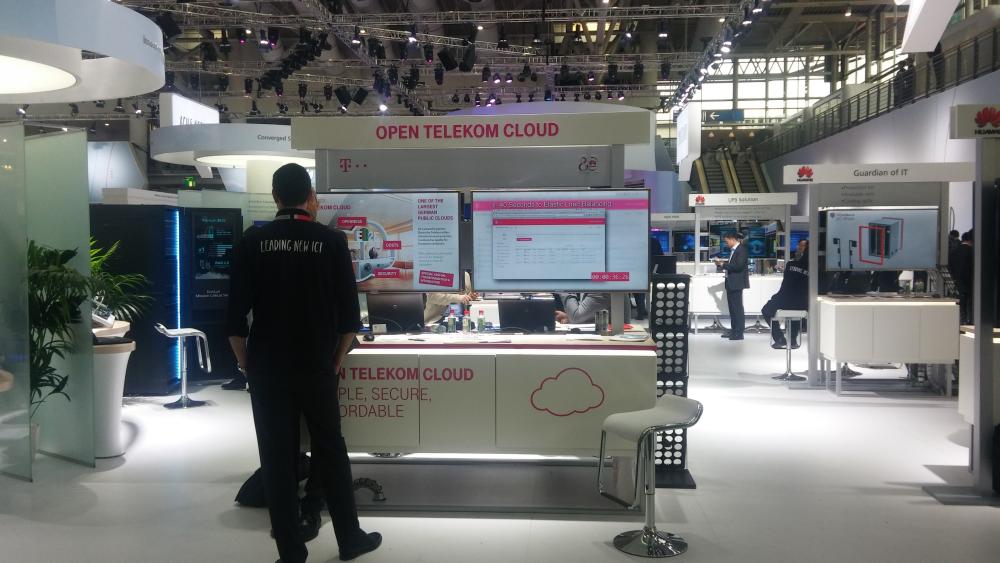 Huawei fournit l'infrastructure au cloud public de Deutsche Telekom (T-Systems).