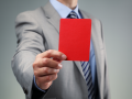 carton rouge avertissement © Brian A Jackson - shutterstock