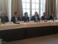 De gauche à droite : Thierry Raguin (Econocom), Sébastien Vugier (Axway), Yann Holly (ex AFM), Jean-Roland Brisard (Infor), Pierre Bijaoui (HPE).