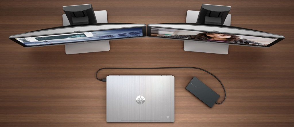 HP Chromebook 13 dock