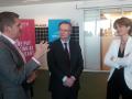 Mark Curis, fondateur de Fjord, Pierre Lanterme, PDG d'Accenture, Isabelle Kocher, DG d'Engie.