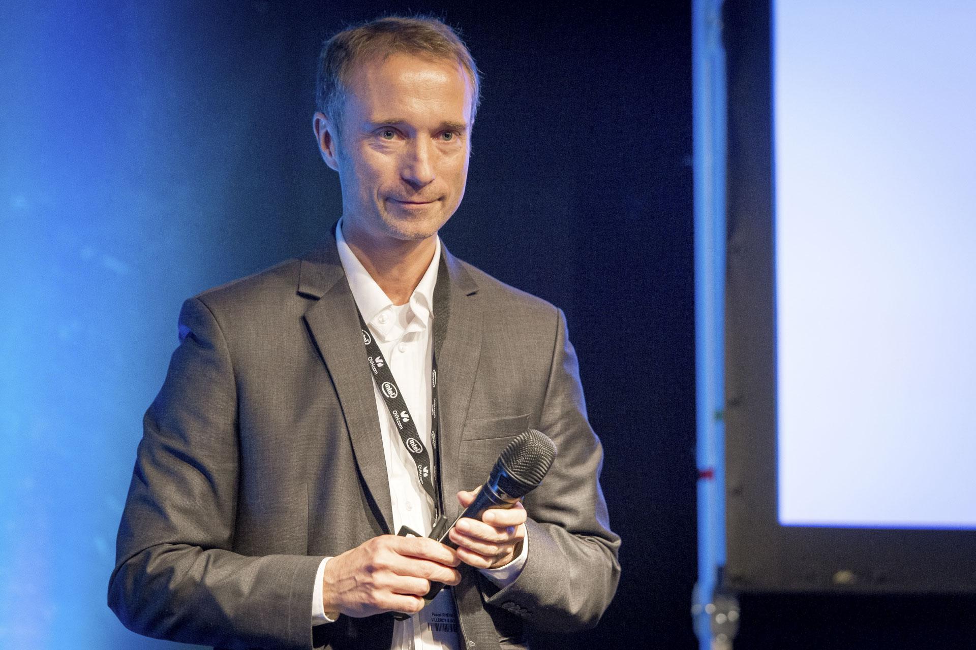Pascal Rheinert, responsable des Systèmes d'Information et des services E-Business de Villeroy & Boch
