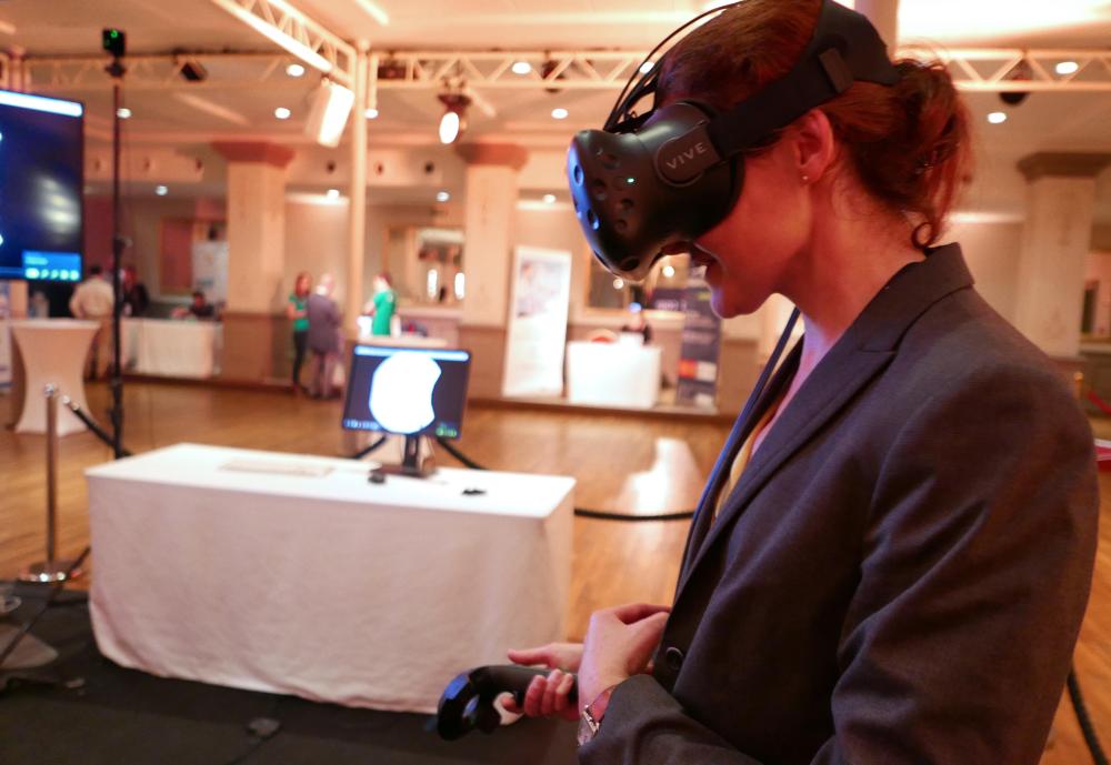 Une version réalité virtuelle de Data Spotr offre une dimension supplémentaire à la visualisation des données.