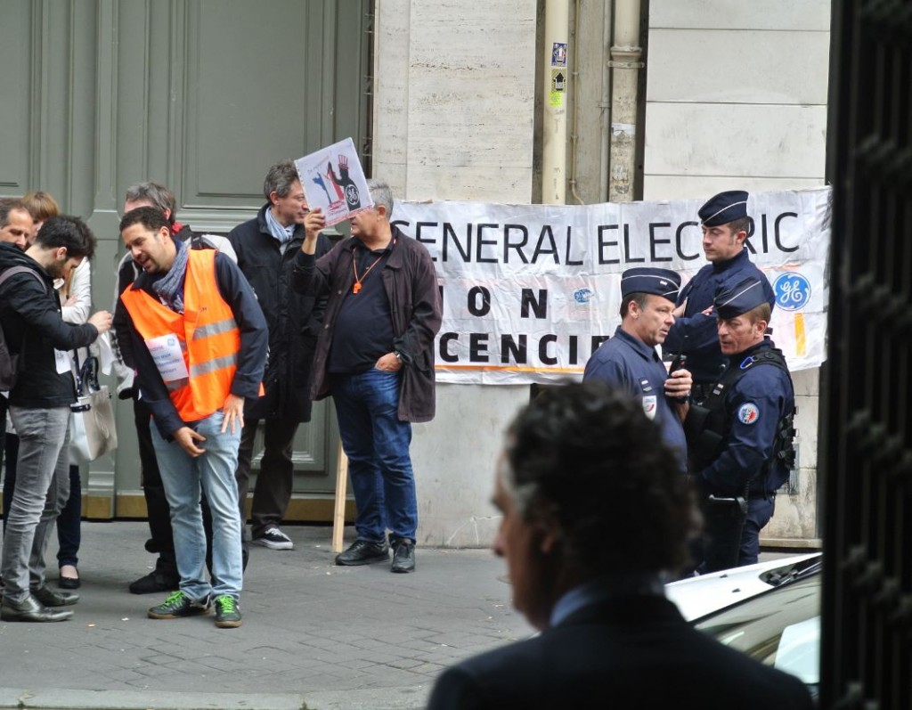 GE syndicats