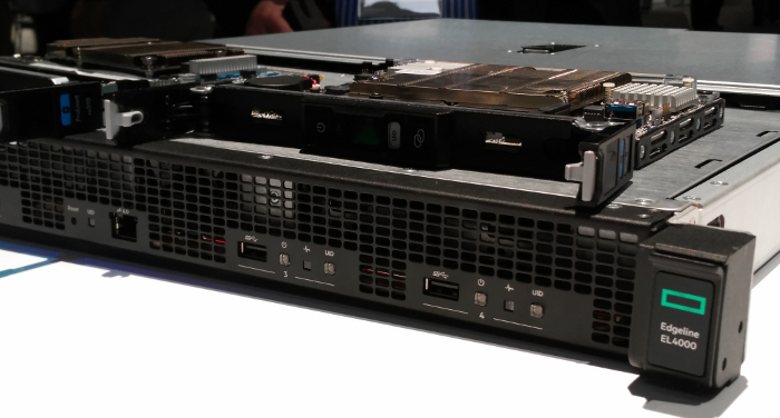 Edgeline EL 4000 peut accueillir Vertica