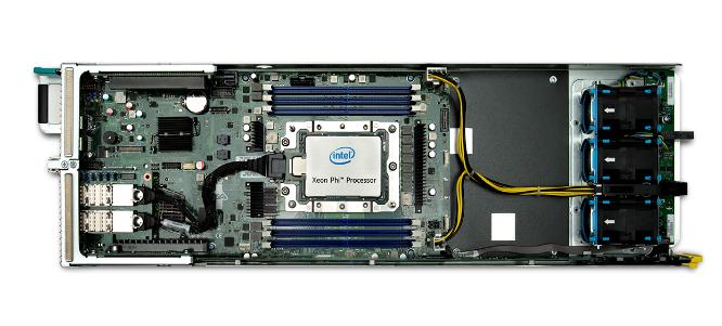 Xeon Phi 7200 noeud