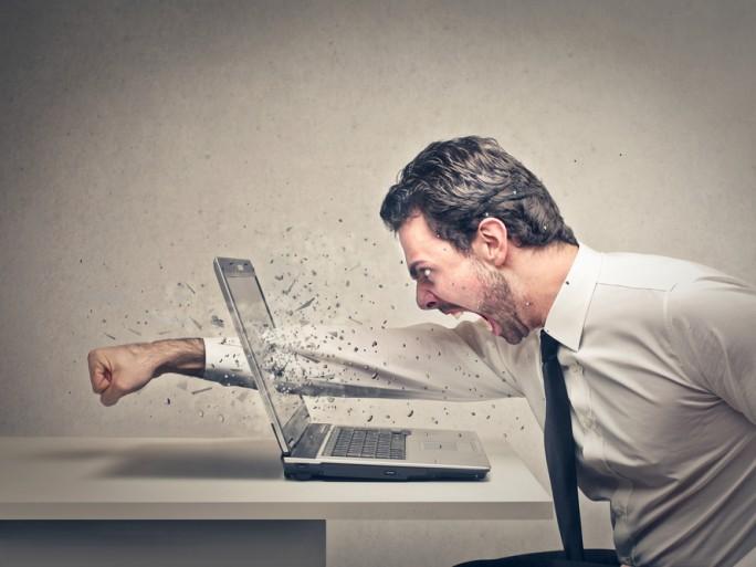 Manpower l 39 informatique stresse les salari s for Application miroir blackberry