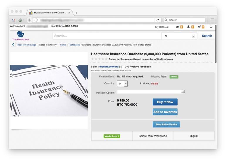 ventes de données médicales