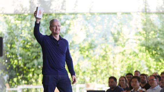 Apple milliard Tim Cook