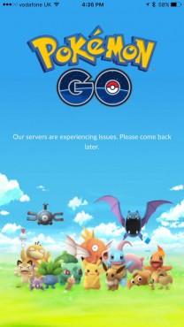 Pokemon Go serveur