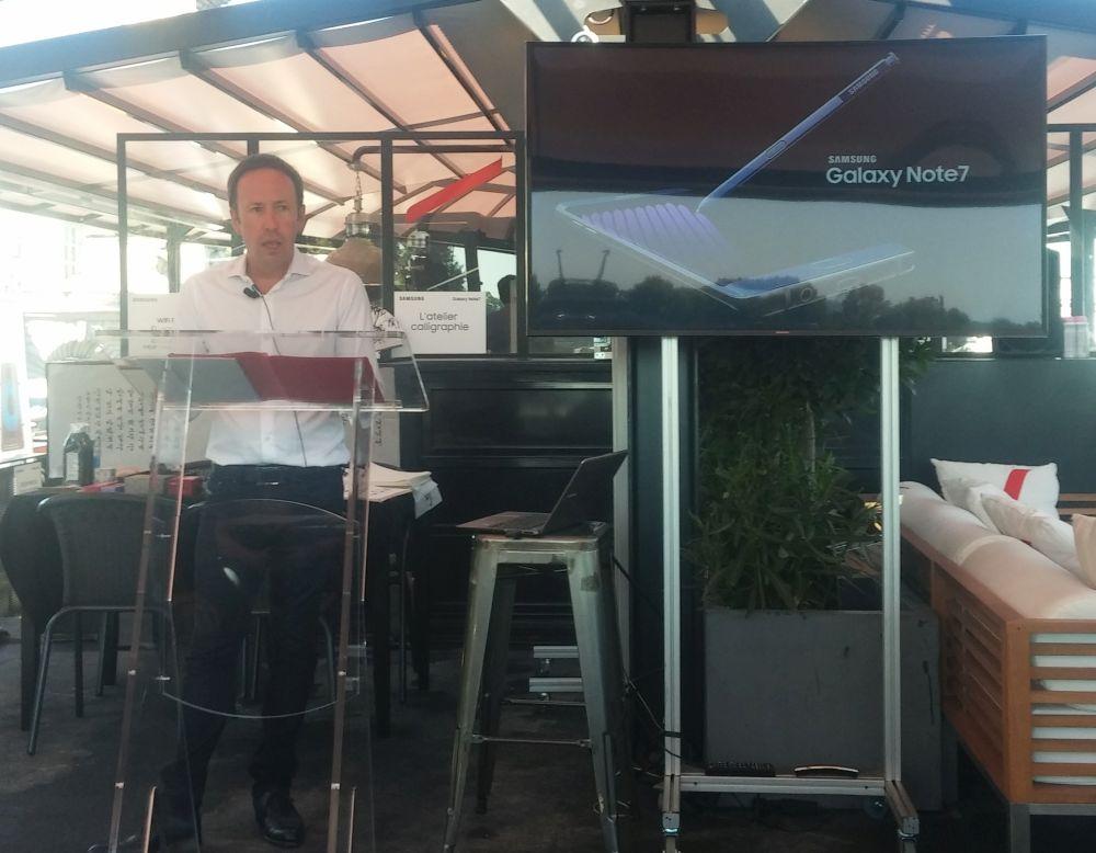 Jean-Philippe Illarine, vice président mobilité de Samsung France.