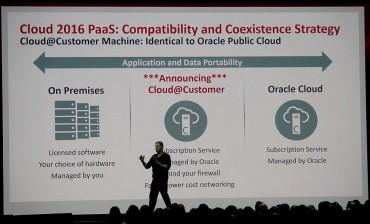 La platfeorme Cloud Public d'Oracle à la maison...