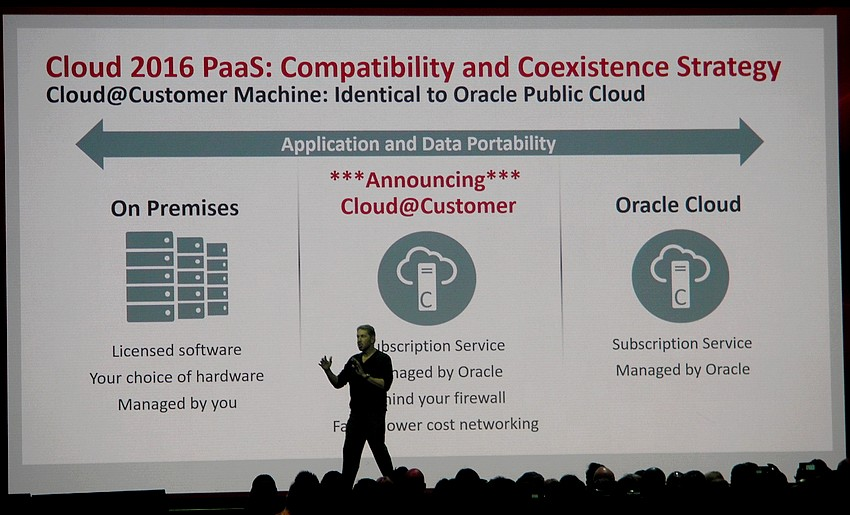 Avec Cloud@customer, Oracle installe son Cloud chez les ...