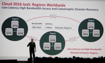 Des groupes de 3 datacenters régionaux, interconnectés à très grande vitesse.