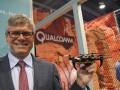Steve Mollenkopf, CEO de Qualcomm,  drone