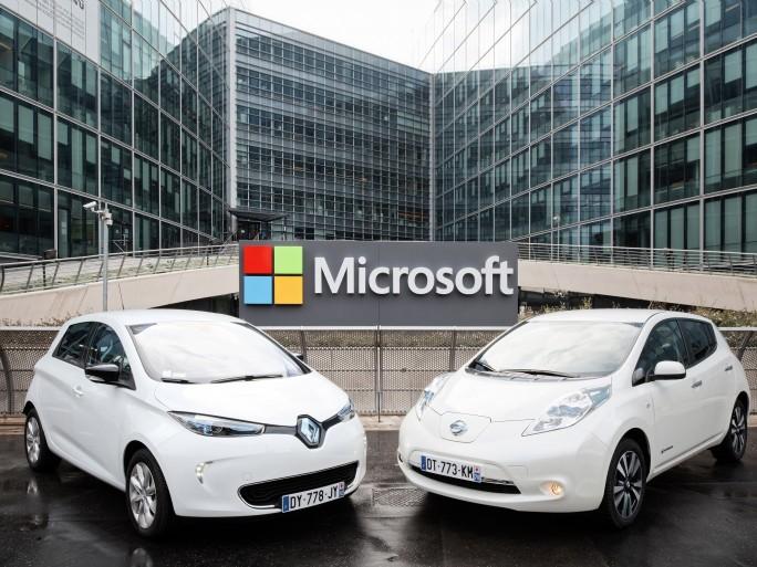 Renault-Nissan Alliance and Microsoft partnership