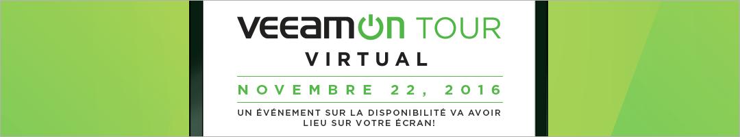 VeeamON Tour Virtual