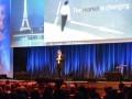 Rich McBee, President et CEO de Mitel à la Maison de la Mutualité lors de Mitel Next Paris 2016