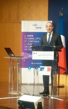 Gilles Brégant, directeur général de l'ANFR.