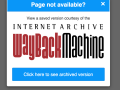 Internet Archive Chrome