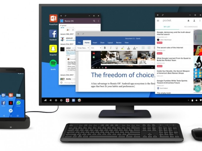 Remix OS for Mobile