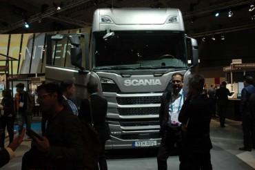 Pas un camion, un (gros) objet connecté, selon Henrik Henriksson, dirigeant de Scania.