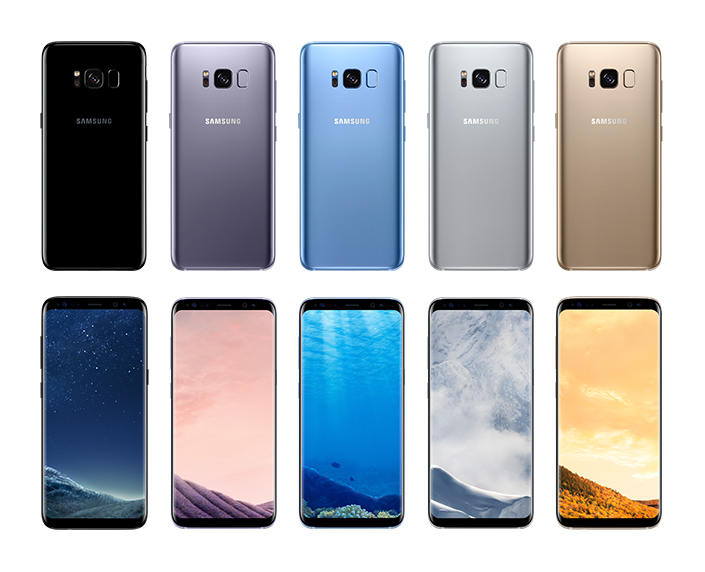 Samsung Galaxy S8 product-colors