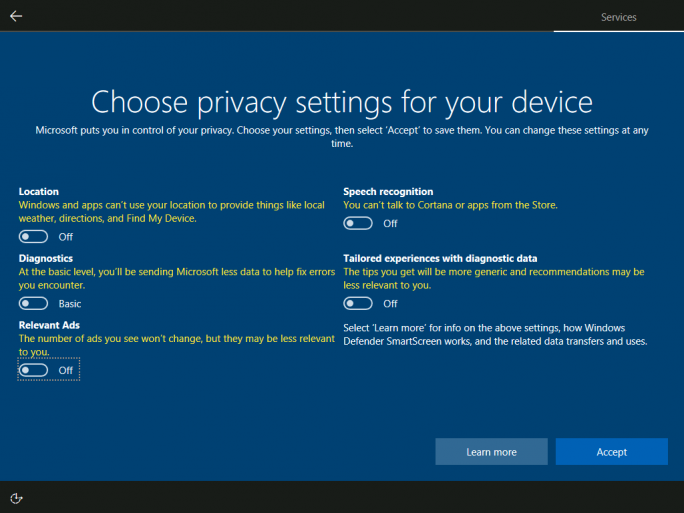Windows 10 Privacy