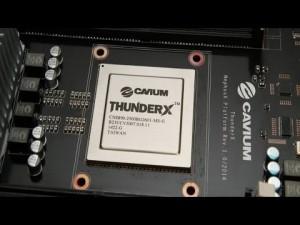 cavium thunder X